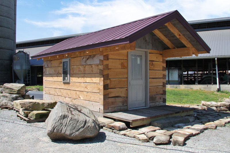 Triple B Enterprises The Reclaimed Timber Company Cabin Packages - Your Source For Manufactured Wall Cladding